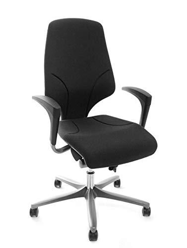 Giroflex 64-7578 Bürodrehstuhl, Drehstuhl - schwarz