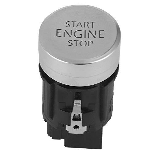 Qiilu Start Stop Engine Car, Start Stop Engine Interruptor de un botón sin llave para 2013-2020
