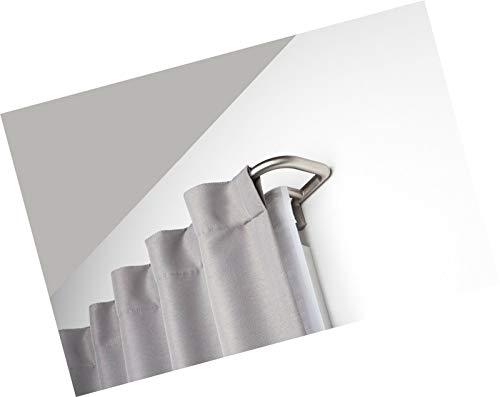 1005892-782-REM Twilight Double Curtain Rod Set – Wrap Around Design is...-Curtains rods double-Dual curtain rods-Curtain rod double-Double curtain rods