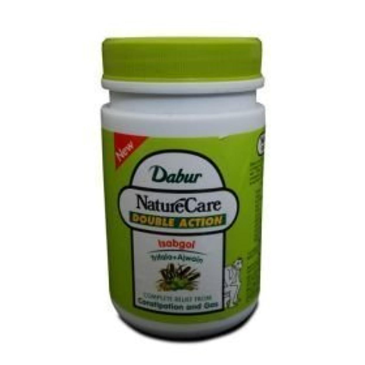 努力ポゴスティックジャンプあいまいなDabur Naturecare Double Action Isabgol Husk Effective Relief From Gas,constipation 100 Grams by Dabur [並行輸入品]
