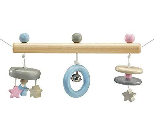 Selecta 64016 Mobile de landau à étoiles, en bois, 63 cm