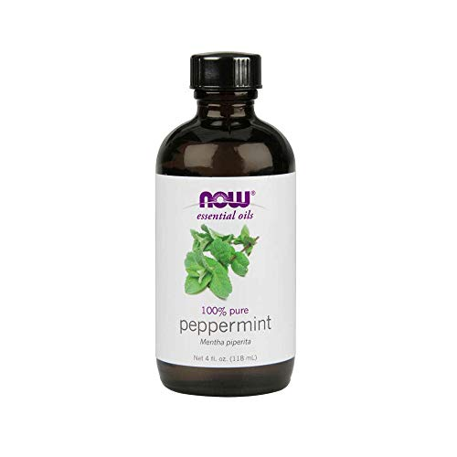 Now Peppermint Essential Oil 4Ounce