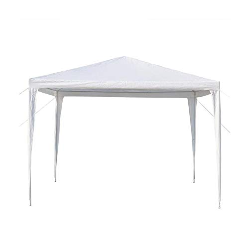 DLRUIHENGXIANGMU Pergolas ,3 X 3m Waterproof Tent ,Beach Canopy, Sun Shelter Tent, Canopy Tent with Spiral Tubes Easy Setup Pop Up Tents Beach Sun Shade White