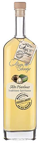 Alpenschnaps |Fasslagerung | 1 x 500ml | Haselnuss | pures Alpenglück im Glas