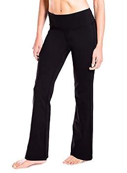 Yogipace 27 /28 /29 /30 /31 /32 /33 /35 /37  Inseam,Petite/Regular/Tall Women s Bootcut Yoga Pants Long Workout Pants 29  Black Size XXL