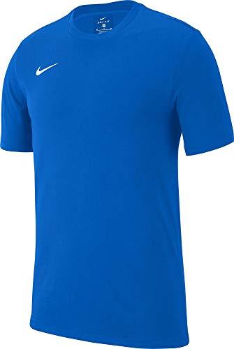 Nike Team Club 19 Tee T-Shirt, Unisex Bambini, Royal Blue/Royal Blue/Royal Blue/White, S