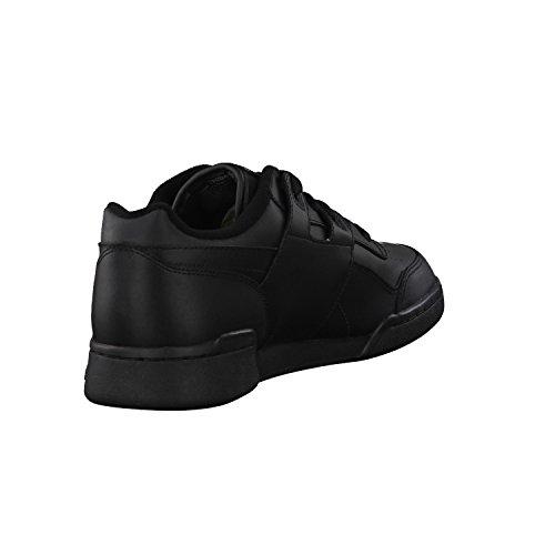 Reebok Workout Plus - Zapatillas de deporte para hombre, Negro (Black/Charcoal), 37.5 EU