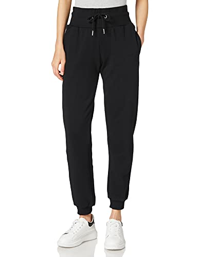 Urban Classics Damen Ladies Organic High Waist Sweat Pants Trainingshose, Black, 5XL