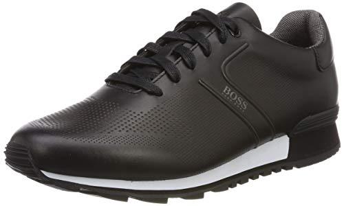 BOSS Herren Parkour_Runn_Ltls Sneaker, Schwarz (Black 001), 43 EU