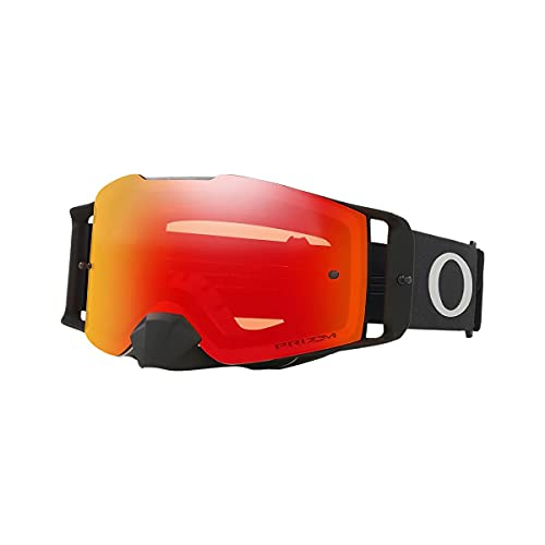 Oakley Front Line MX Tuff Blocks - Gafas de moto para adultos, color negro