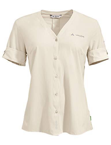 VAUDE Damen Hemd-Bluse Women's Skomer Shirt III, Ecru, 38, 41817