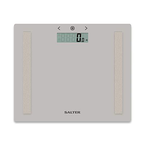 Báscula de análisis Salter 9113BK3R, de vidrio y compacta