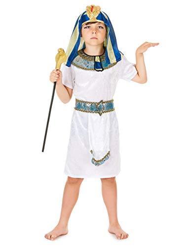 DEGUISE TOI Déguisement Pharaon d'Egypte garçon - M 7-9 Ans (120-130 cm)