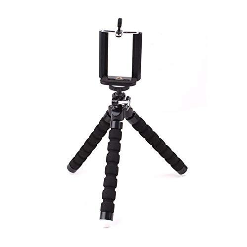 YUSWPX Soporte para teléfono móvil Soporte Flexible de trípode de Pulpo para teléfono móvil Soporte de Selfie Soporte de monopod Control Remoto de Fotos (Color : Black)