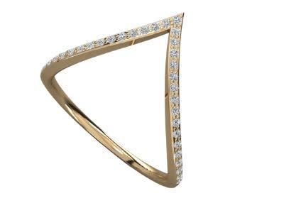 VVS Anillo ligero de diamante real certificado de oro blanco de 18 quilates, oro amarillo/oro rosa con forma redonda de 0,12 quilates de diamante natural anillo de aniversario para mujeres
