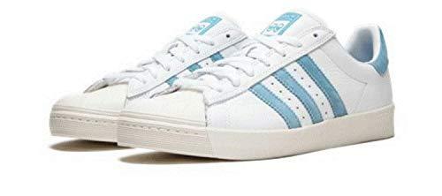 adidas Herren Superstar Vulc X Krooked Laufschuhe, Elfenbein (FTWR White/Customized/Chalk White), 42 2/3 EU
