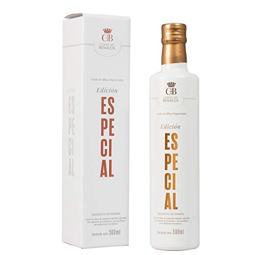 Aceite de Oliva Virgen Extra Conde de Benalúa Coupage Especial [Variedad Picual, Hojiblanca y Arbequina]