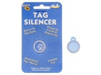 Quick Tags ID Tag Silencers- (Small Circle Tag)