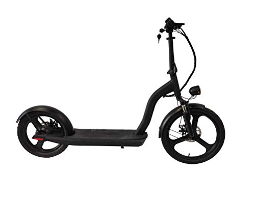 Green Moto - Patinete eléctrico con ruedas altas para mayor seguridad, y...