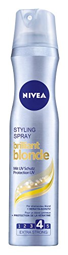 Nivea Styling Spray Brilliant Blonde, Haarspray, 6er Pack (6 x 250 ml)