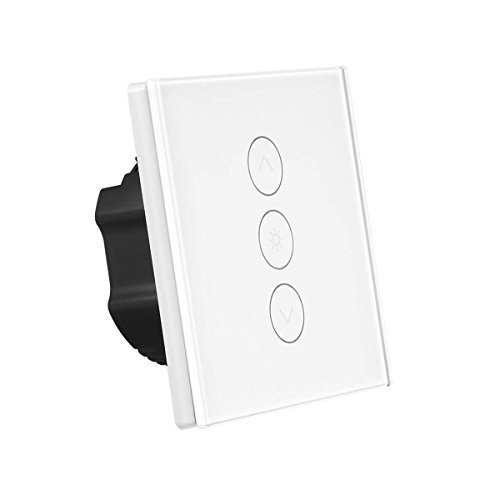 Smart Dimmer Switch 400W WiFi Touch Stepless Wall...