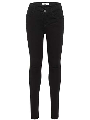 NAME IT NAME IT Mädchen NKFPOLLY DNMSUS Soft 7156 Pant NOOS Jeans, Schwarz/Black Denim, 98