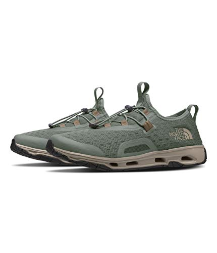 The North Face Men's Skagit Water Shoe, Agave Green/Military Olive, 10