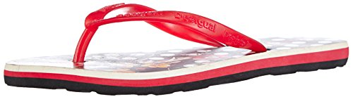 Desigual Damen Shoes Beach 3 Zehentrenner, Schwarz (2000), 36 EU