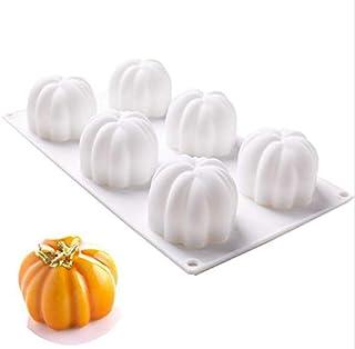 Facile /à Utiliser et /à Nettoyer. antiadh/ésif Moule /à Mousse Moule /à g/âteaux Moule /à Dessert p/âtisserie pour Chocolat GUANLIAN Moule en Silicone en Forme de Citrouille pour Halloween Pudding