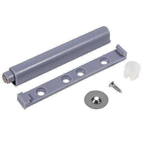 10pcs Sistema de Amortiguador de Puerta, Sistema push para puerta de mueble con pistón amortiguador para Armario Gabinete Cajón Puerta (Magnetic Tip)