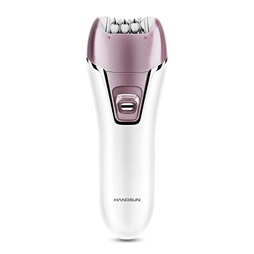 Hangsun Epilator for Women F270 Wet and Dry Hair Removal Kit, 2 in 1 Cordless Lady Shaver Rechargeable Epilator for Women Skin Care