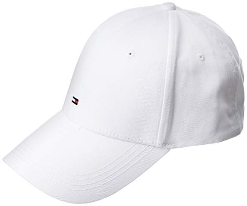 Tommy Hilfiger Herren Baseball Cap CLASSIC BB, Gr. One size, Weiss (CLASSIC WHITE 100)