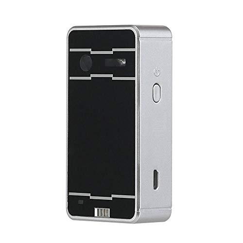 LIZONGFQ Laser-Mini-Tastatur drahtlose virtuelle Projektions-Tastatur tragbar für iPhone für Android Smartphone-Tablet-PC-Notebook,C