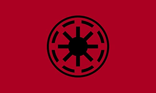 magFlags Bandera Large Galactic Republic Clone Wars | Galactic Republic as it Appears in The Star Wars The Clone Wars TV Show | Bandera Paisaje | 1.35m² | 90x150cm