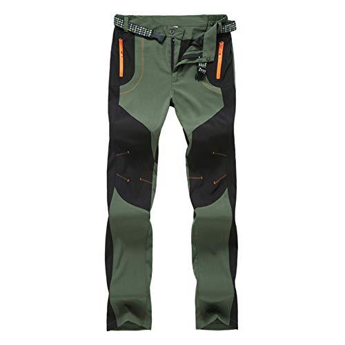 Pantalones vaqueros para mujer, bloqueando el color al aire libre, pantalones de asalto de forro polar engrosados para esquí de verano