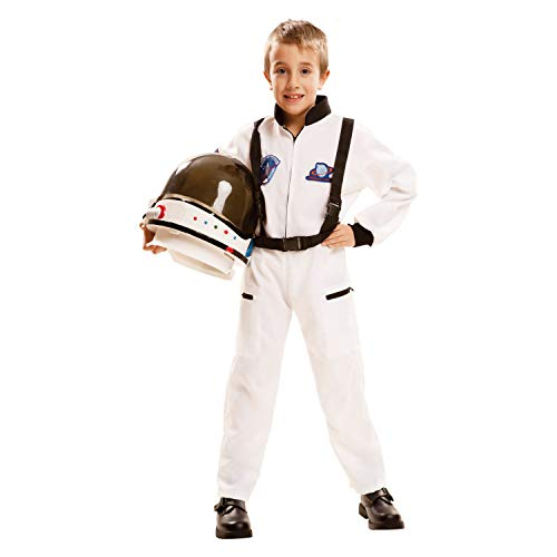 My Other Me Me-202084 Disfraz de astronauta, color blanco, 7-9 años (Viving Costumes 202084)