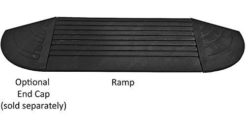 5 Ton 4 Inch Rubber Curb Ramp 10,000 lbs Capacity