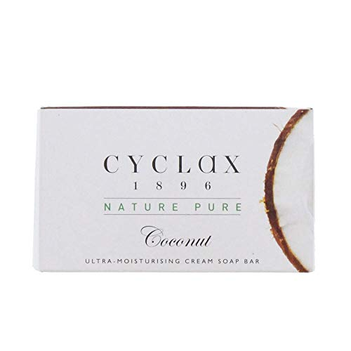 Cyclax Coconut Soap - 90g Set of 2 Ultra-Moisturising Cream Soap Bar Provides Nourishment and Cleanses the skin