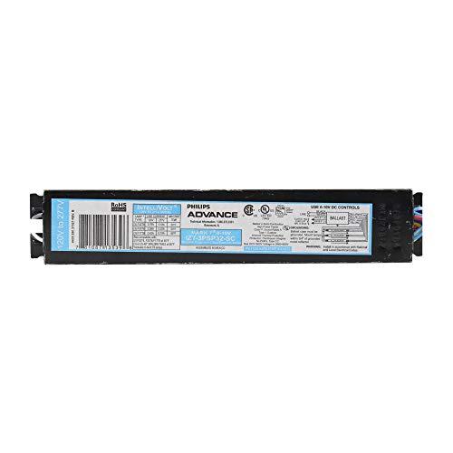 Philips Advance IZT-3PSP32-SC Dimming Ballast, Mark 7, T8, 120/277V, 94W Lighting, Black
