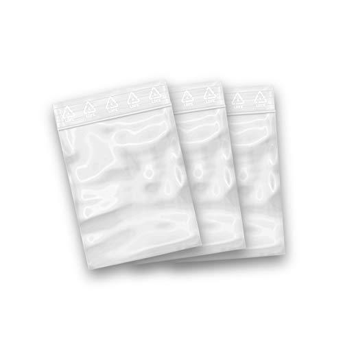 SachetZip® - Lot de 100 sachets zip refermables - 6 x 8 cm (10 tailles au choix)