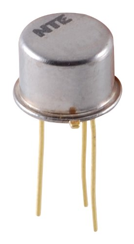 NTE Electronics NTE278 NPN Silicon Transistor, Broadband RF Amp, TO39 Type Package, 40V, 0.4 Amp