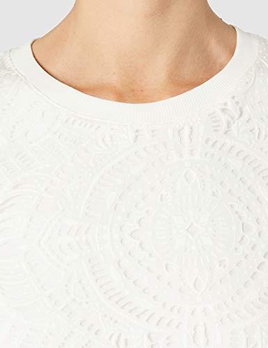 Desigual Vest_Nilo Vestido Casual, Blanco, M para Mujer