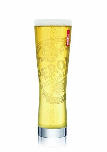 Bicchiere da pinta birra Peroni Nastro Azzurro
