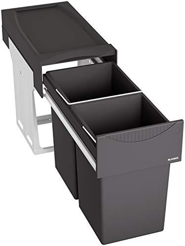 BLANCO Sistema de residuos, Metal, plástico, Negro, 30 cm Unterschrank