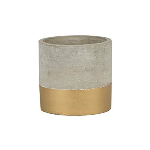 Sass & Belle Mini Tuva Pot de fleurs en ciment doré