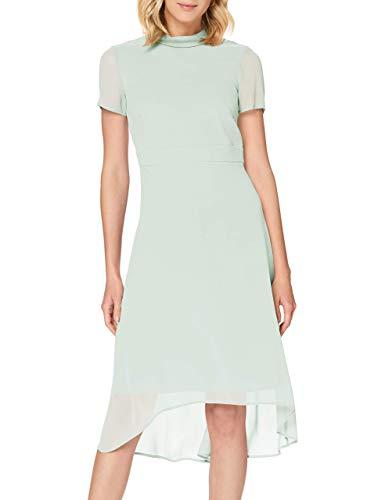 ESPRIT Collection 030EO1E316 Kleid für besondere Anlässe, Damen, Grün 38 EU