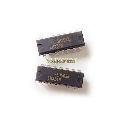 10PCS Lm324n Dip14 Ic Precio G4 Circuito Amplificadoroperacionalintegrado Quad Gp16v 32v 14-pin Pdip Lm324
