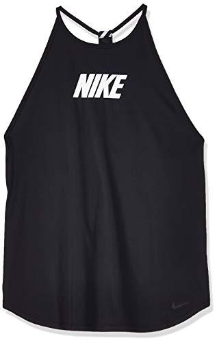 Nike Damen Graphic Tank, Black/White, L