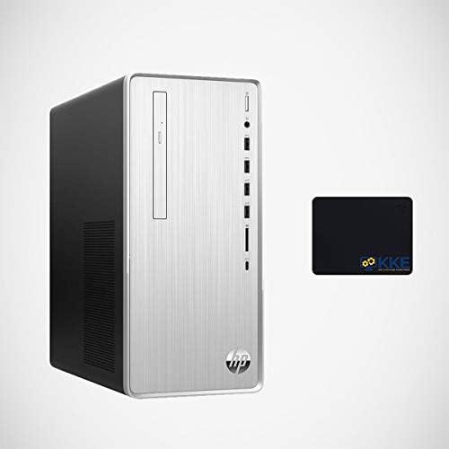 HP Pavilion Desktop Computer, 10th Gen Intel Core i5-10400F, 32GB DDR4 RAM, 1TB PCIe Solid State Drive + 2TB HDD, AMD Radeon RX 550, WiFi, HDMI, DVD-RW, Wired Keyboard&Mouse, KKE Mousepad, Win10