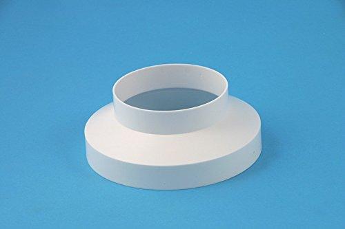 daniplus© Übergangsstück, Reduzierstück Ø 100-150 mm für Abluftschlauch
